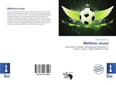 Bookcover of Matthias Jouan