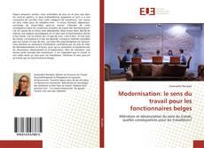 Bookcover of Modernisation: le sens du travail pour les fonctionnaires belges