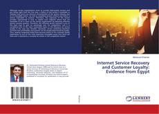 Portada del libro de Internet Service Recovery and Customer Loyalty: Evidence from Egypt