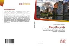 Bookcover of Blount Baronets