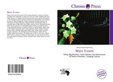 Bookcover of Matt Evans