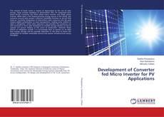 Copertina di Development of Converter fed Micro Inverter for PV Applications