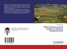 Portada del libro de Micro Finance and Its Impact on Women Empowerment