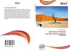Capa do livro de Ipomoea Costata