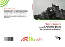 Bookcover of Delaval Baronets