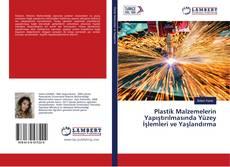 Capa do livro de Plastik Malzemelerin Yapıştırılmasında Yüzey İşlemleri ve Yaşlandırma