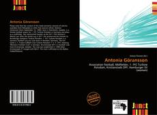 Bookcover of Antonia Göransson