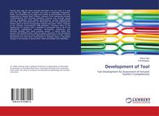 Bookcover of Development of Tool
