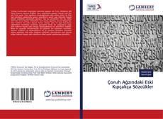 Çoruh Ağzındaki Eski Kıpçakça Sözcükler kitap kapağı