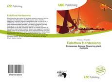 Buchcover von Eidothea Hardeniana