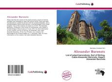 Bookcover of Alexander Baronets
