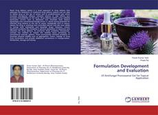Formulation Development and Evaluation kitap kapağı