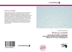 Bookcover of Hedvig Lindahl