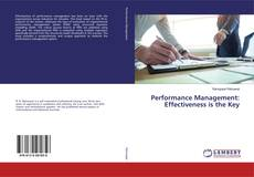 Обложка Performance Management: Effectiveness is the Key