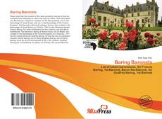 Обложка Baring Baronets