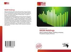 Portada del libro de MGM Holdings