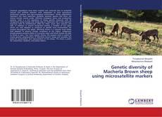 Capa do livro de Genetic diversity of Macherla Brown sheep using microsatellite markers