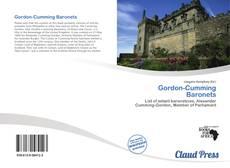 Buchcover von Gordon-Cumming Baronets