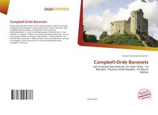 Bookcover of Campbell-Orde Baronets