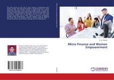 Portada del libro de Micro Finance and Women Empowerment