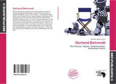 Buchcover von Gerhard Behrendt
