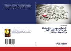 Copertina di Financing Lebanese Public Debt with Remittance-backed Securities