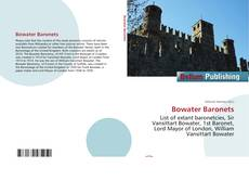 Bookcover of Bowater Baronets