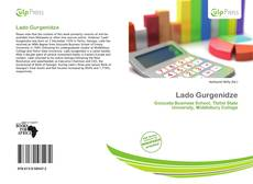 Обложка Lado Gurgenidze