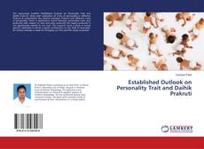 Bookcover of Established Outlook on Personality Trait and Daihik Prakruti