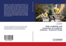 Capa do livro de Web credibility and evaluation of academic websites - Empirical Study