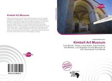 Bookcover of Kimbell Art Museum