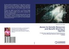 Bookcover of Access to Genetic Resources and Benefit Sharing in Uganda