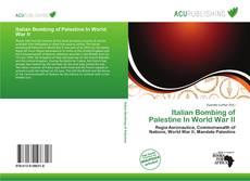 Bookcover of Italian Bombing of Palestine In World War II