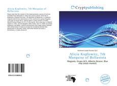 Bookcover of Alicia Koplowitz, 7th Marquise of Bellavista