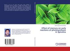 Buchcover von Effect of mercury on early reactions of photosynthesis in Spirulina