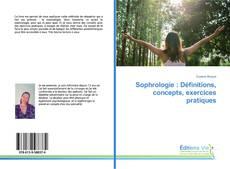 Buchcover von Sophrologie : Définitions, concepts, exercices pratiques