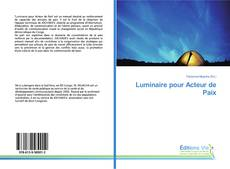 Обложка Luminaire pour Acteur de Paix