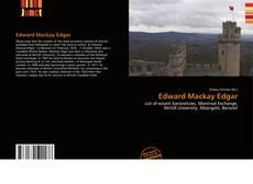 Bookcover of Edward Mackay Edgar