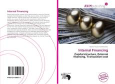 Bookcover of Internal Financing