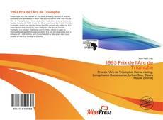 Capa do livro de 1993 Prix de l'Arc de Triomphe