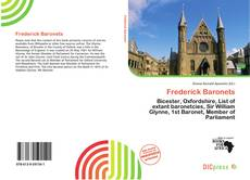 Обложка Frederick Baronets