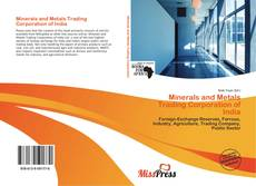 Capa do livro de Minerals and Metals Trading Corporation of India