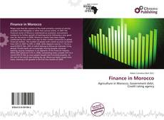 Bookcover of Finance in Morocco
