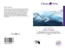 Bookcover of Allez France