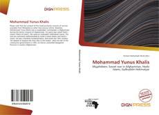 Mohammad Yunus Khalis kitap kapağı