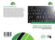 Battle of the Dukla Pass kitap kapağı