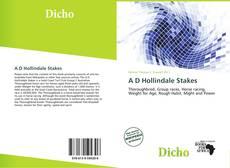 Copertina di A D Hollindale Stakes