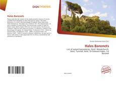 Bookcover of Hales Baronets