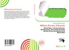 Bookcover of Military Service Tribunals