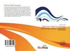 Capa do livro de Bolivian Sign Language